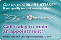Get up to $100 off on LATISSE