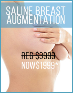 Saline Breast Augmentation Promotion