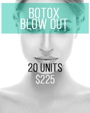 Botox Blow Out Area Promotion updated