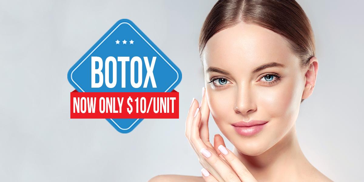 botox $10 per unit